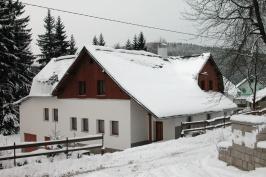 Okolí klauzovky v zimě